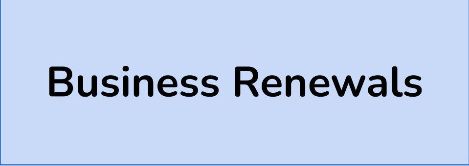 Business Renewals