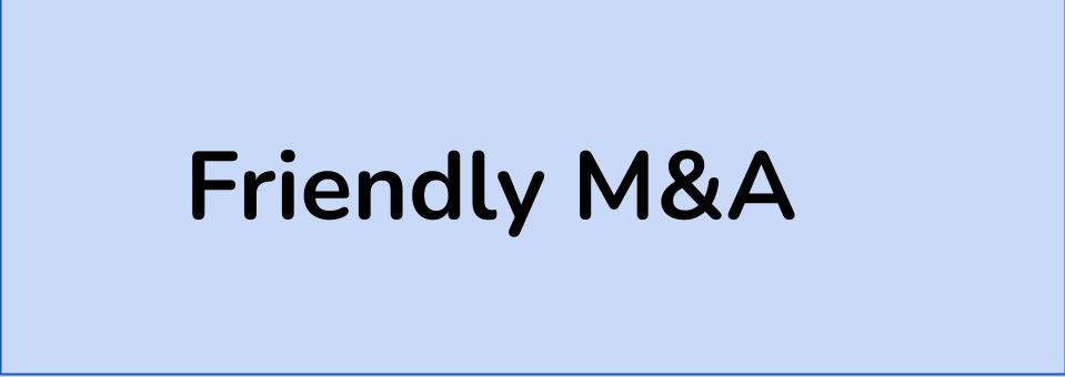 Friendly M&A